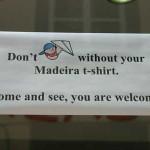 Verlasse Madeira nicht mit dem Papierflieger