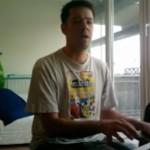 Mein Klavier hat jetzt Sonnenschein