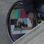 Der coolste Rollstuhl-Rad-Aufdruck überhaupt