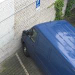 Profis beim Einparken