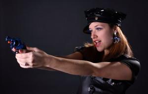 hübsche polizistin