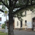Ort des Grauens: Der Bahnhof von Schnaittach