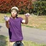 Unglaublicher japanischer Straßenkünstler