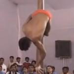 Pole Dancing Meisterschaften von einem Mann gewonnen!