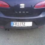 Ob da auch Fritz drin sitzt?