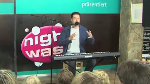 Manuel Wolff bei Nightwash
