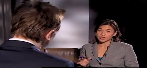 Julian Assange bricht Interview ab