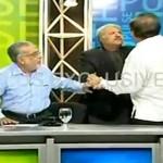 Pakistanischer Politiker wirft das Glas des Zorns
