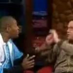 Schlägerei Sportler gegen Comedian