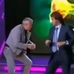 Alexander Lebedew prügelt im TV-Studio