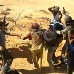 Neues Video von Gaddafis Festnahme