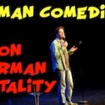 German Comedian on german mentality