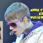 Justin Bieber Anne Frank Fail!