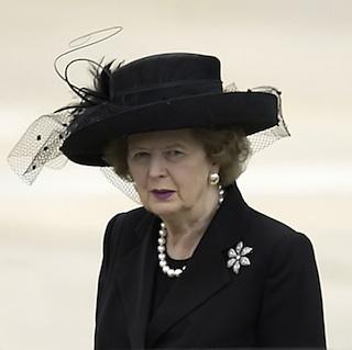 Margret Thatcher Ex-Premierministerin tot - Schlaganfall