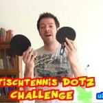 Tischtennisball dotzen – die Challenge!