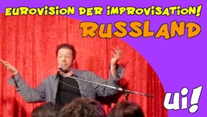 Eurovision Song Contest - Russland improvisiert!