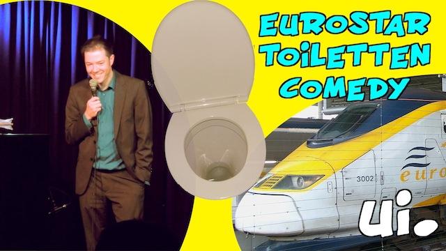 Eurostar Toiletten Comedy 2013