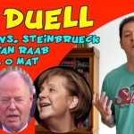 TV Duell: Wahl O Mat sagt: Weder Merkel, noch Steinbrück, noch Raab!
