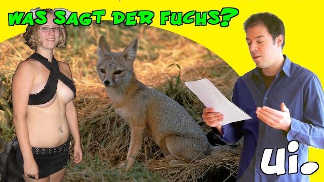 ylvis the fox deutsche übersetzung