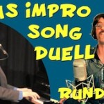 Impro-Song-Duell Runde 2, Match 1