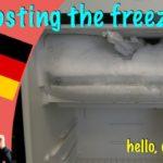 Wie man den Gefrierschrank auftaut