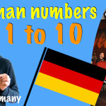 How to count in german, 1 to 10