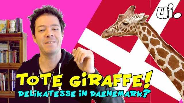 Giraffe getötet in Dänemark im Zoo