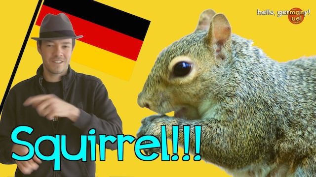 why can't germans say squirrel?