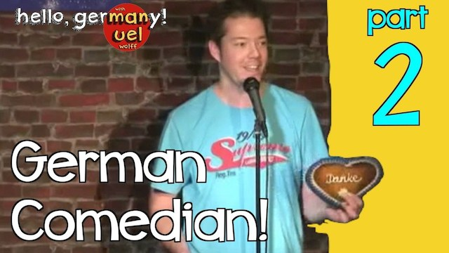 german comedian rocks american audience