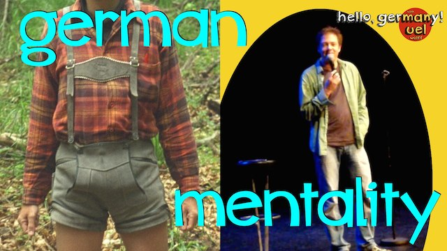 german mentality, a german comedian explains