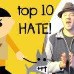 Son of a nazi faggot! My top 10 hate comments