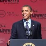 "Obama singt ""Shake it off!"""