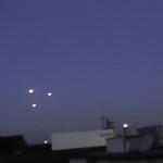 Sind das UFOs über Köln?
