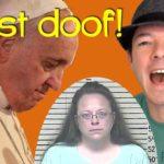 Homophober Papst trifft scheinheilige Schlampe