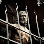 Christ will mich einsperren, da er schon genug ertragen muss, wegen dieser Säkularisierung