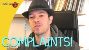 germans always complain