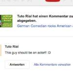 german comedian should be an actor