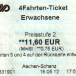 5 erfolglose Versuche, online ein Bahnticket von Köln nach Münster zu kaufen